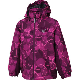 Color Kids Konrod Padded Jacket Kids Berry